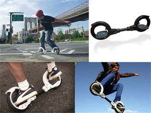 Rocking 2 wheels SkateCycle Sports Equipment Skate Cycle for Adult Kids Roller Foldable Drift Skateboard Stunt Scooter Board - virtualdronestore.com
