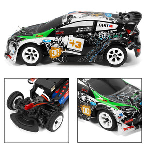 K989 1/28 RC Racing Car 2.4G 4WD Brushed RC Car High Speed Radio Control Car Toy Drift Remote Control Toys for Children - virtualdronestore.com