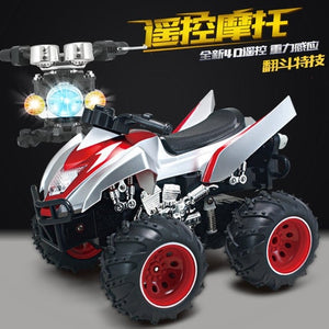 2.4Ghz Gravity induction 360 degree rotation stunt 4D RC Remote Control Motorcycle Electronic Toy VS 2098B - virtualdronestore.com