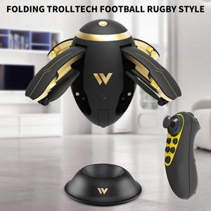 WIFI FPV Foldable RC Quadcopter Selfie Drone Flying Egg Drone W5 2.4GHz 0.3MP Camera 4 Channel Altitude Hold Drones Xmas Gifts - virtualdronestore.com