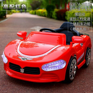 Kids Electric Ride on Car Four Wheels Double Engine Swing RC Car Remote Control Baby Walker Car Toys for Children Boys - virtualdronestore.com