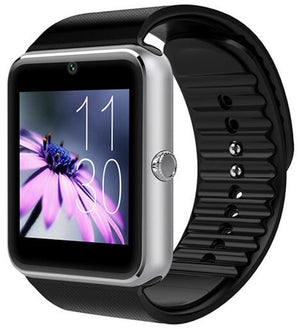 Slimy Smart Watch GT08 Clock With Sim TF Card Slot Push Message Bluetooth Connectivity for Android Phone Smartwatch Metal Strap - virtualdronestore.com