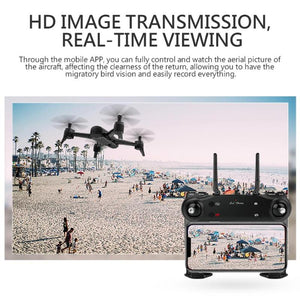 VODOOL SG106 RC Drone Optical Flow 1080P 720P HD Dual Camera FPV WiFi Real Time Aerial Video RC Quadcopter Aircraft Dron Camera - virtualdronestore.com