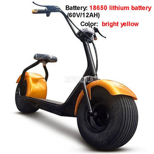 Cool Style Big 2 Wheel New Harley Electric Vehicle Adult Pedal Electric Bicycle Motorcycle Scooter With Seat Mileage 40km 1000W - virtualdronestore.com