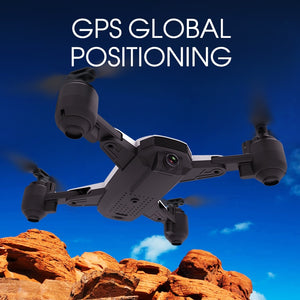 Profession Drone GPS 1080P HD Camera 5G Follow me WIFI FPV RC Quadcopter Foldable Selfie Live Video Altitude Hold Auto Return - virtualdronestore.com