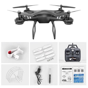 Mini RC Drone With Camera HD 360 Degree 1080P Wide Angle WIFI FPV Quadcopter Hovering Control Headless Mode Selfie Drone - virtualdronestore.com