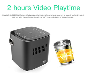Full HD Portable Android Projector - virtualdronestore.com