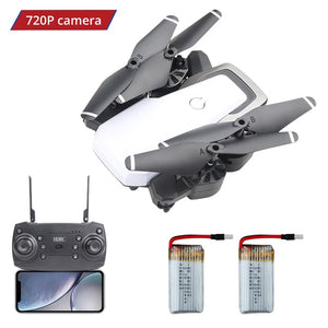 APEX-D8 Drone with Camera HD FPV RC Dron WiFi 720P Wide-angle Foldable Mini Quadcopter Helicopter Altitude Headless Mode Toy - virtualdronestore.com
