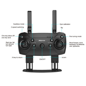 Foldable HD Camera Drone - virtualdronestore.com
