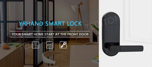 Digital Waterproof Keyless Door Lock - virtualdronestore.com