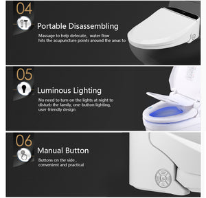 Washlet Electric Warm Toilet Seat Cover - virtualdronestore.com