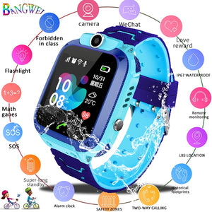 2019 New Smart watch LBS Kid SmartWatches Baby Watch for Children SOS Call Location Finder Locator Tracker Anti Lost Monitor+Box - virtualdronestore.com