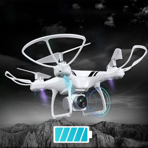 white camera drones profissional RC Drone Wifi FPV HD Adjustable Camera RC Quadcopter Drone 1800mAh profissional RC Drone - virtualdronestore.com