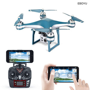 XKY K10 GPS Drone WiFi FPV Drone with Adjustable HD ESC Camera Wide Angle + Altitude Hold RC Quadcopter Drone -20min Flight Time - virtualdronestore.com