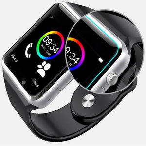 Smart Watch Clock Sync Notifier Support SIM TF Card Connectivity Apple iphone Android Phone Smartwatch PK GT08 U8 - virtualdronestore.com