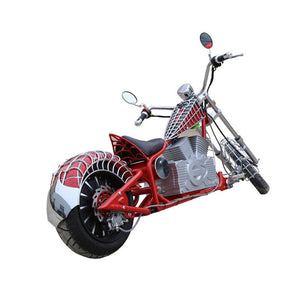 Adult Electric Harly Citycoco Electric Spider-Man Motorcycle 72V20A 1500W with 80km/h - virtualdronestore.com