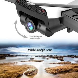 Drone Quadcopter X12 4CH RC Foldable Altitude Hold with Wifi Camera Live Video One Key Return Headless Mode 3D Flip - virtualdronestore.com