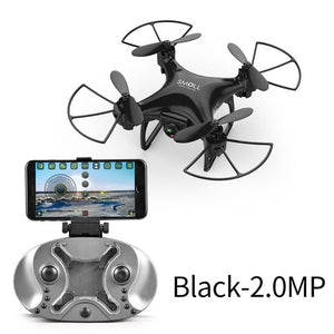 APEX RC Mini HD Camera Drone with HD 720P Upgrade Quadcopter Altitude Hold RC Helicopter Drones Mic Dron Quadrocopter Selfie Toy - virtualdronestore.com