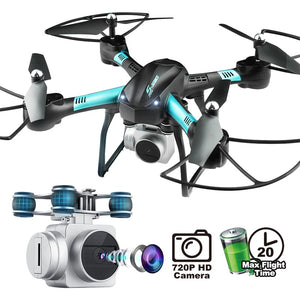 Large size 39cm drone S11T air pressure fixed high four-axis aircraft HD camera pfv drone flight 20 minutes rc helicopter - virtualdronestore.com