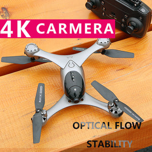 Professional WIFI Drone With Camera HD 4K Live Video FPV Dron Attitude Hold Optical Flow Positioning RC Helicopter Quadrocopter - virtualdronestore.com