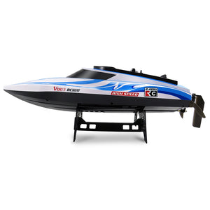 Flytec V003 RC Racing Boat 2.4G 2CH with Self-righting Waterproof Built-in   Cooling System 30+Km/h RC High Speed Boat - virtualdronestore.com