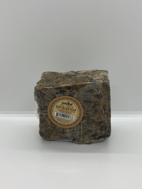 West African Raw Black Soap (1 lb)