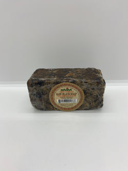 West African Raw Black Soap (1/2 lb)