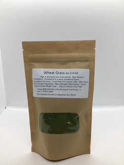 Wheat Grass 4oz