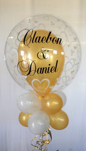 Personalised Stuffed Bubble