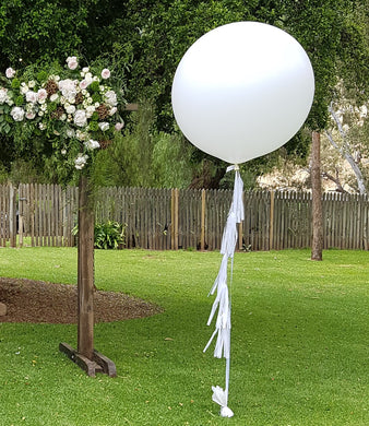 Giant 90cm Balloon with Tassels