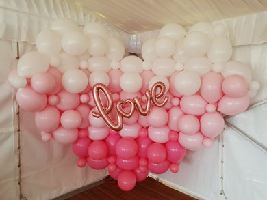 Giant Heart Wall 2m x 2m