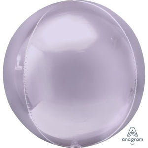 "PASTEL LILAC Orbz Balloon 40cm (16"") - Helium Filled"
