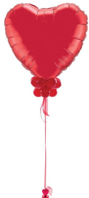 Huge Heart Balloon with Personalised Message