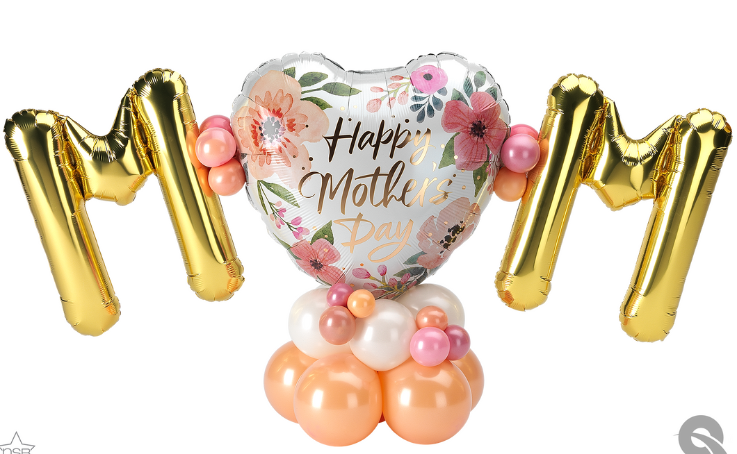 Mother's Day Floral Mini Letters