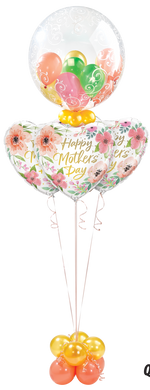Mother's Day Pink Floral Gumball Layer