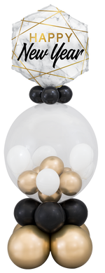 New Year Marble Gumball Stand Up