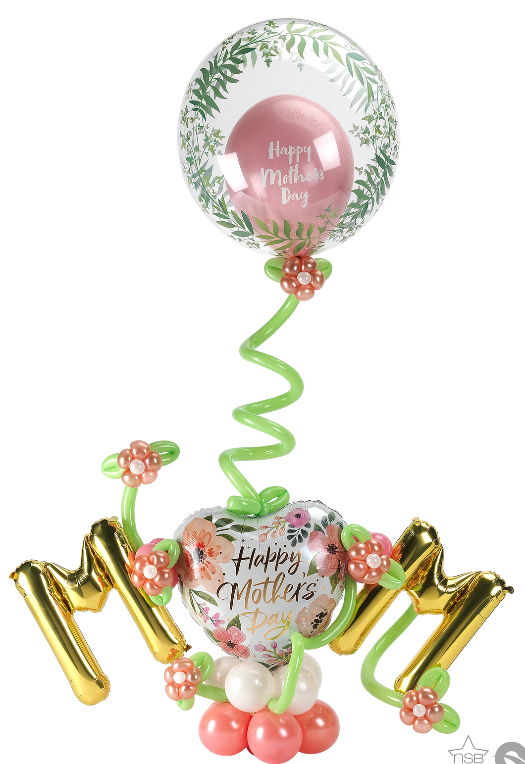 Mother's Day Floral Float