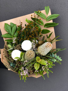 Native Seasonal Boho Bouquet
