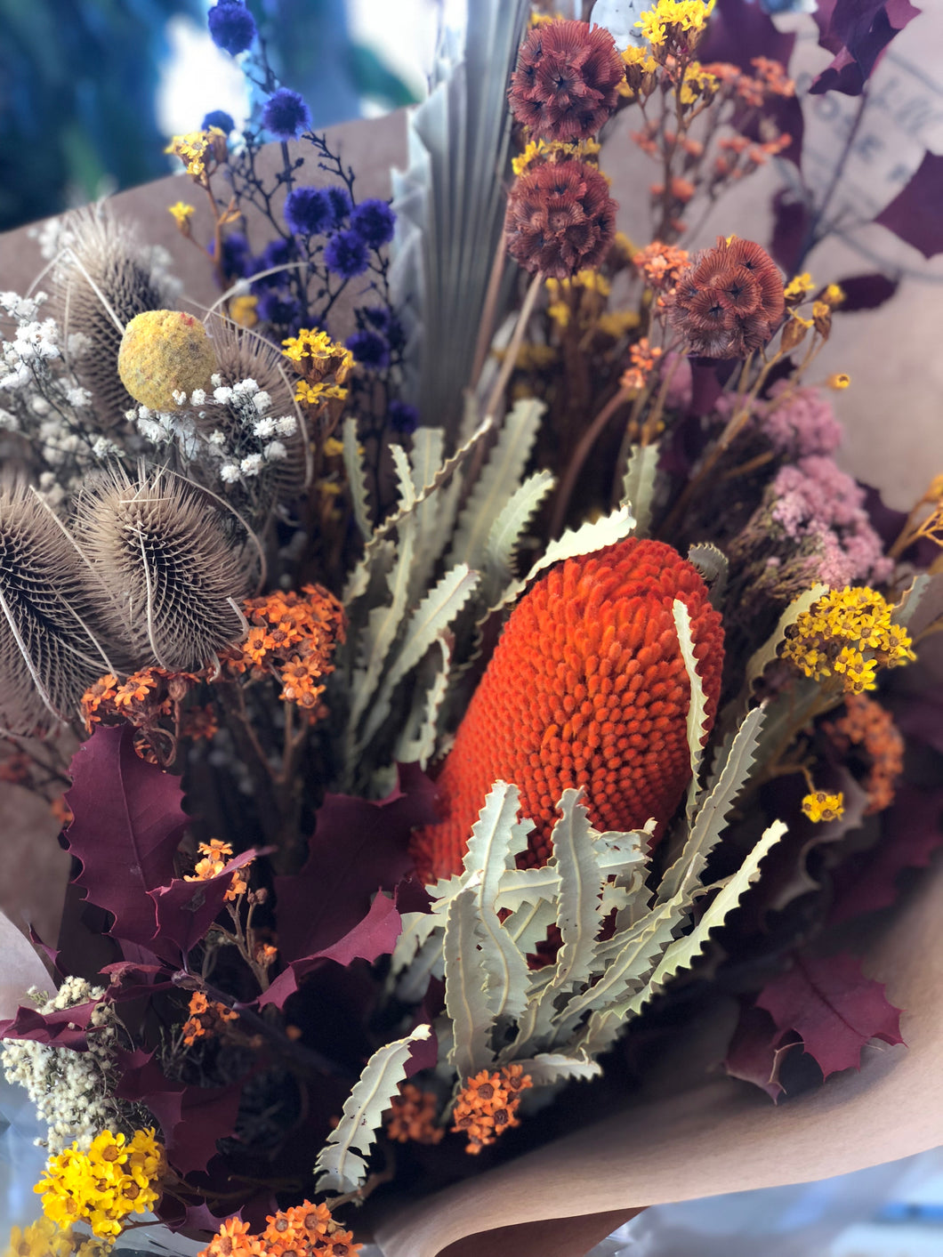 Dried Flower Bouquet Medium