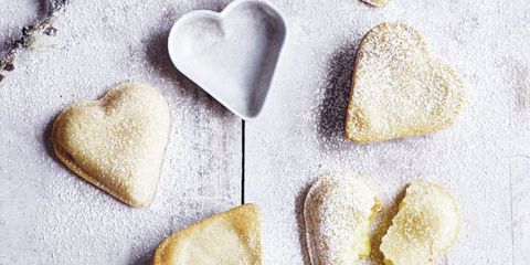 Vanilla Custard Hearts