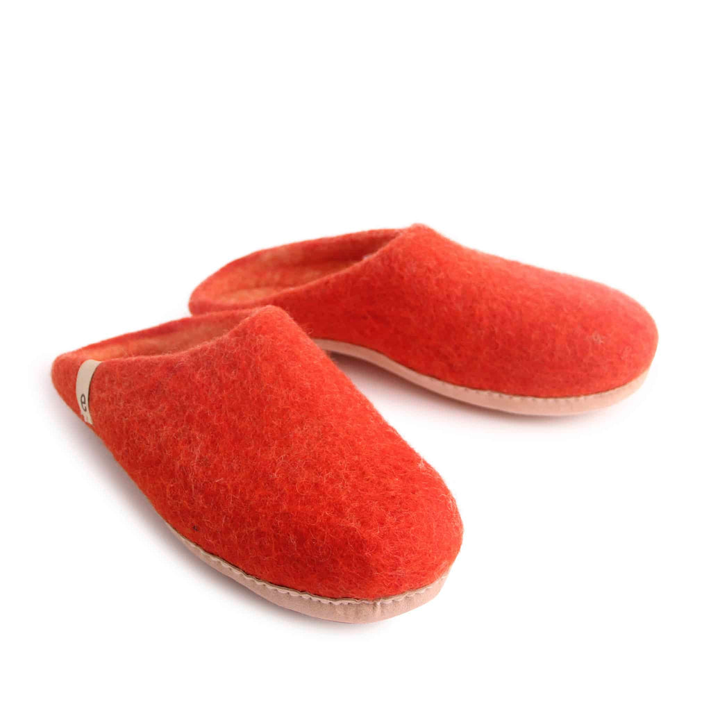egos Copenhagen Slipper, Rusty Red