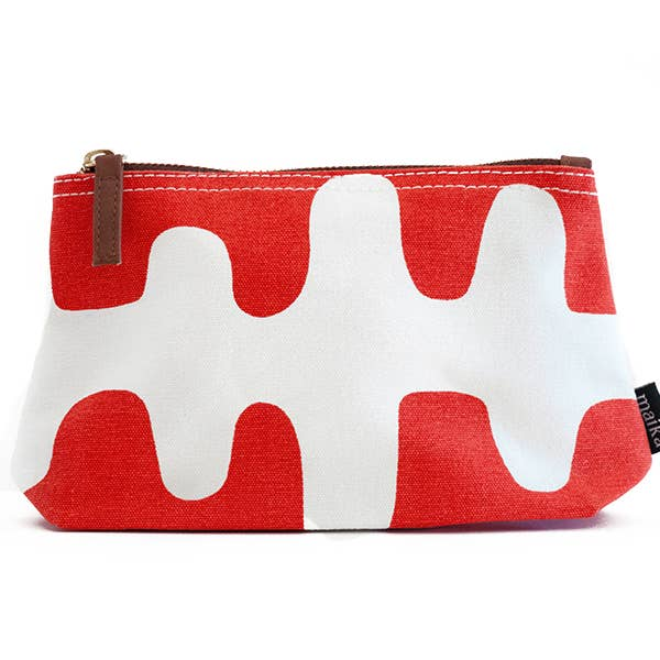 Maika Echo Tangerine Pouch, Medium