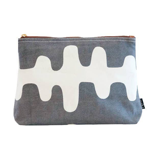 Maika Echo Charcoal Pouch, Small