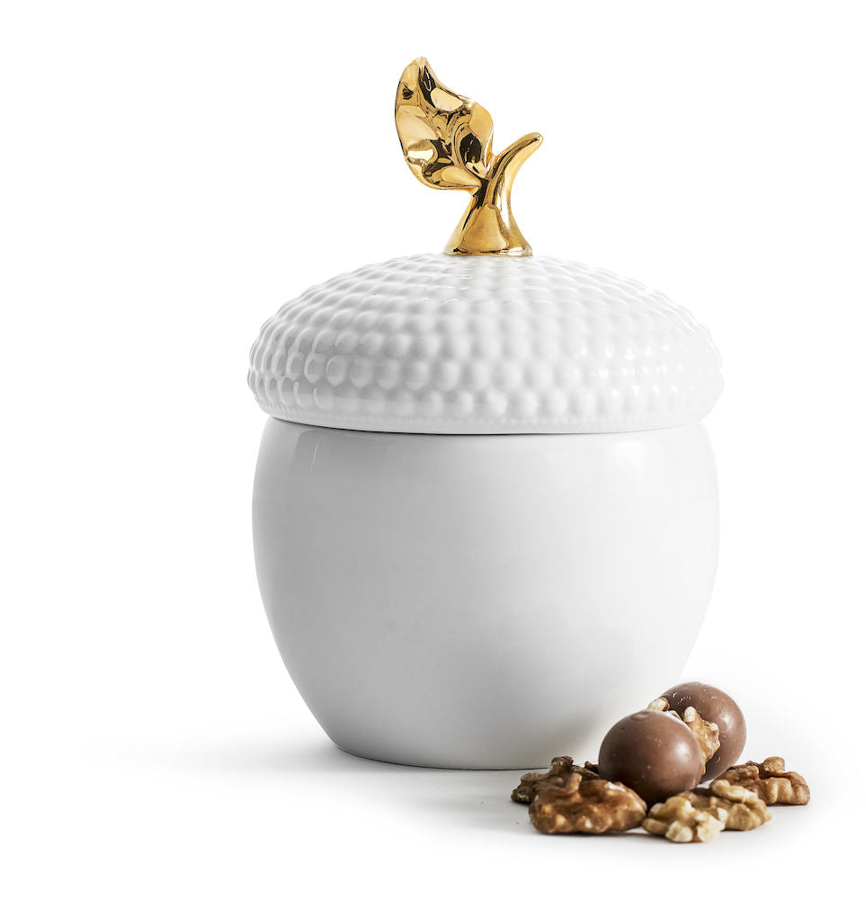 Acorn Jar with Lid