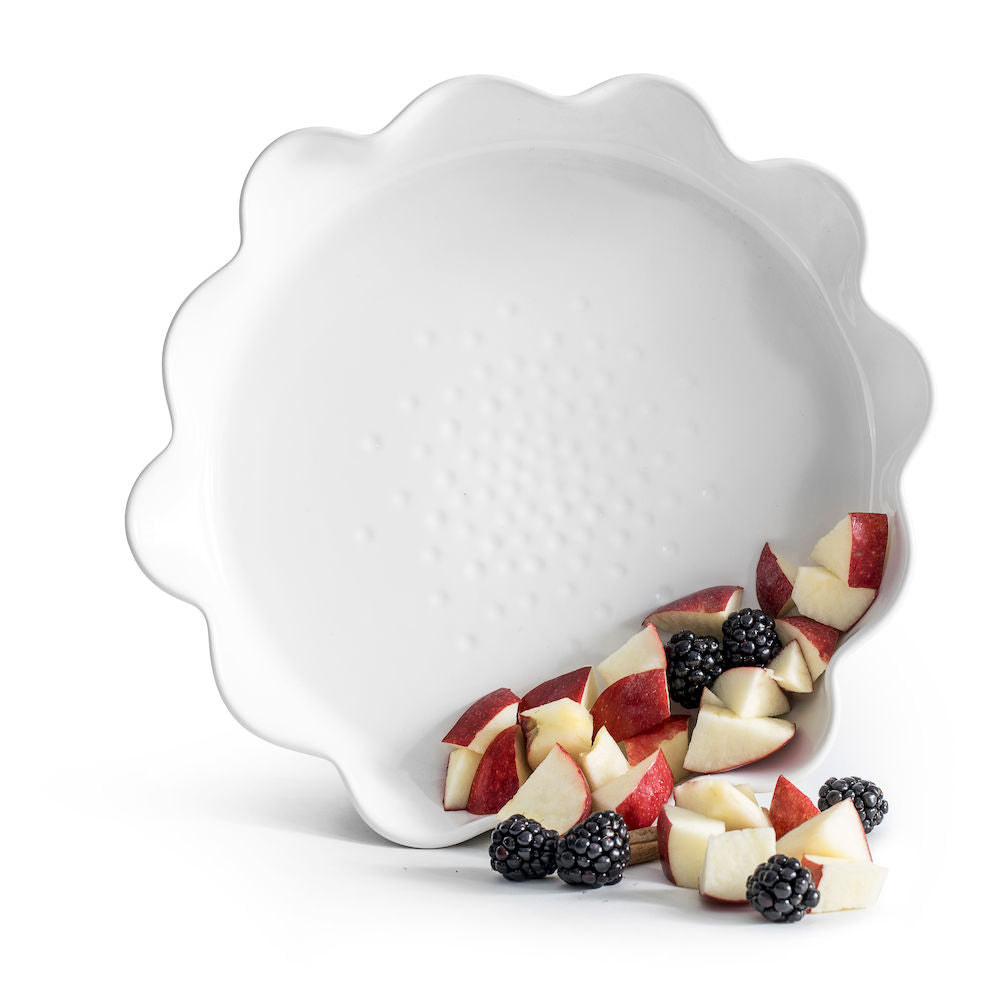 Piccadilly Pie Dish, White