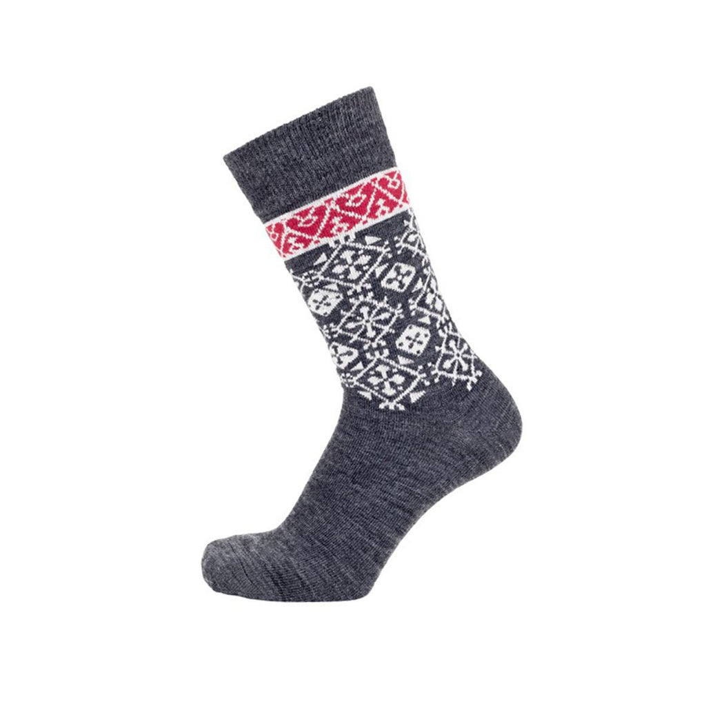 Bengt & Lotta Merino Wool Socks, Fjallnas Dark Grey