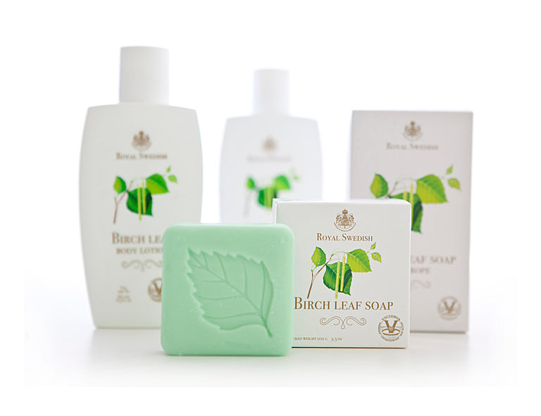 Royal Swedish Birch Leaf Soap