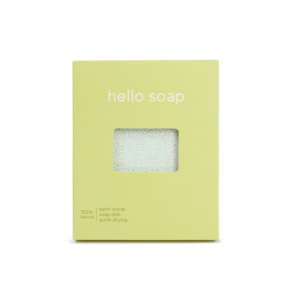 Hello Soap Dish, Green