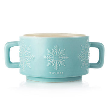 Hot Cocoa Peppermint Mug Candle, 3-wick