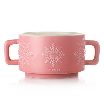 Hot Cocoa Raspberry Mug Candle, 3-wick